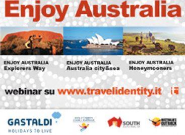 Online la registrazione dei webinar Enjoy Australia