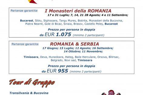 ROMANIA… un paese vicino da scoprire