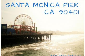 CALIFORNIA: IL SANTA MONICA PIER