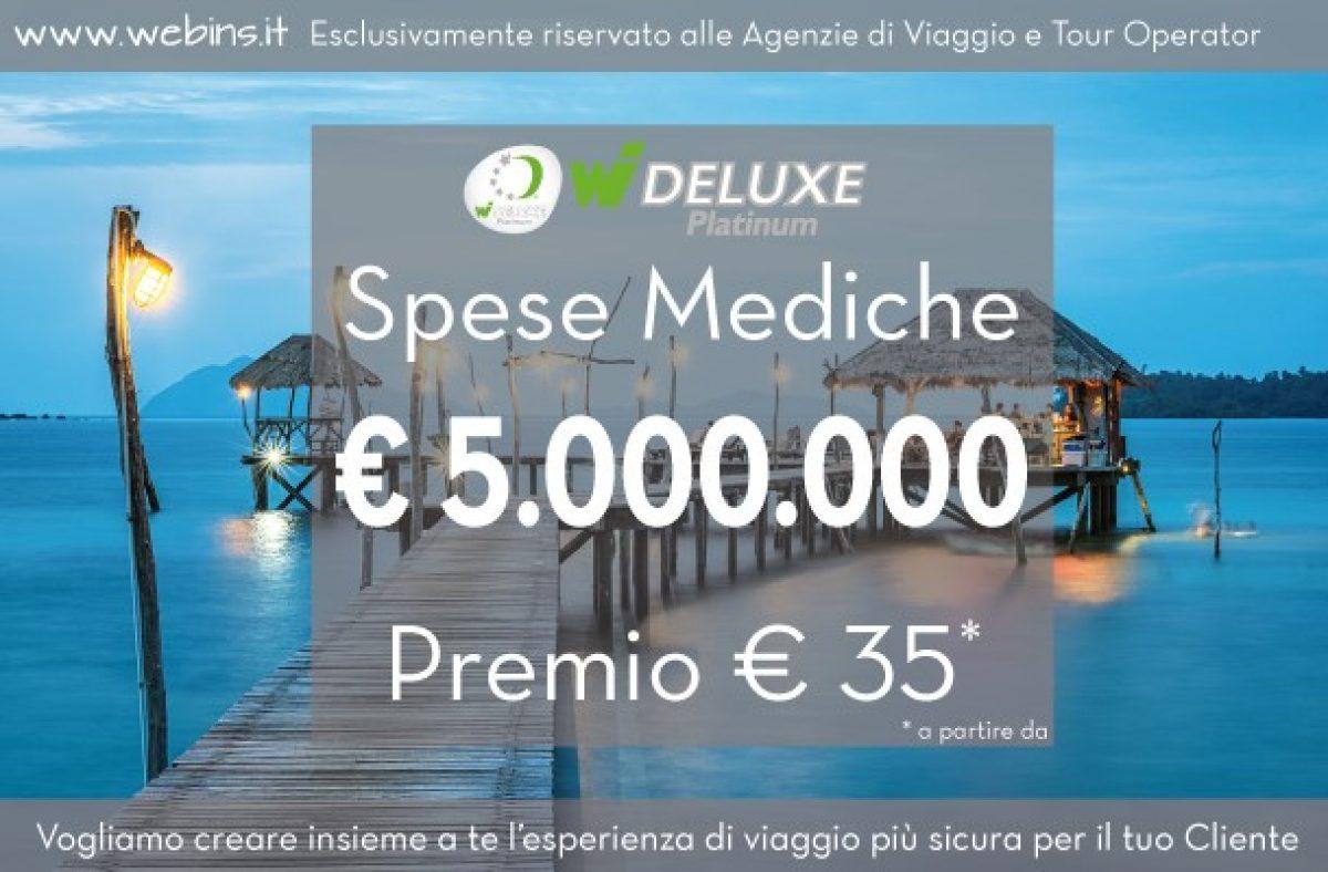 Ecco la Polizza con €5.000.000 Copertura Spese Mediche