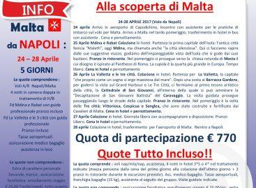 Vieni a Scoprire Malta