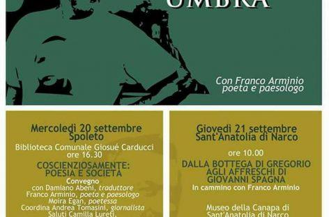"""""""Esercizi di paesologia umbra"""" con Franco Arminio 20/21 settembre"""