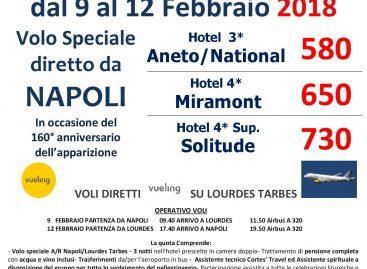 Lourdes da Napoli 9-12 febbraio