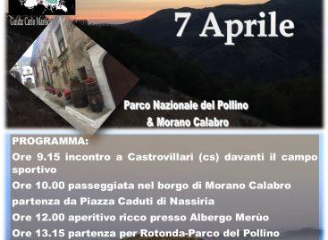ESCURSIONI GUIDATE-CAMMINO CONSAPEVOLE – TREKKING BORGO E NATURA