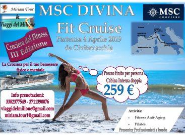 MSC DIVINA – FIT CRUISE