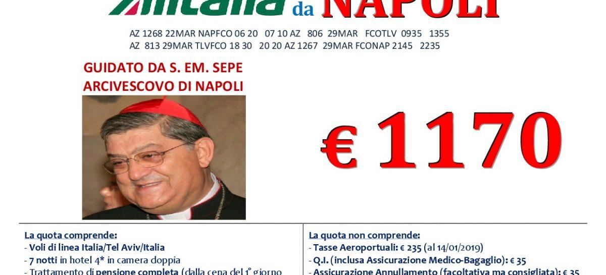 Terra Santa da Napoli 22 Marzo