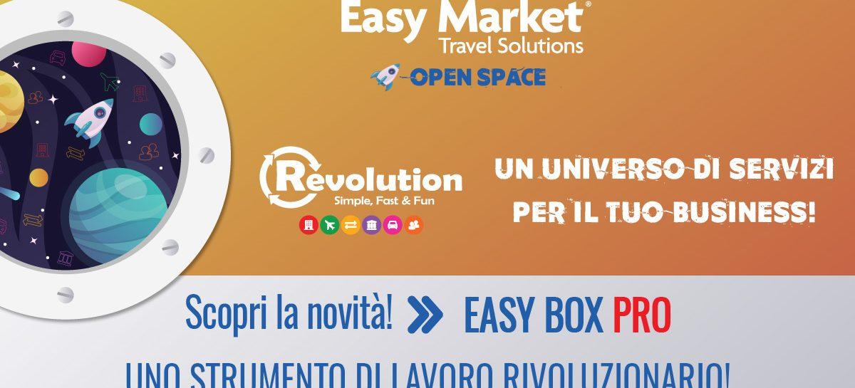 Webinar Easy Market – Easy Box PRO: l'ultima grande implementazione del sistema Revolution!