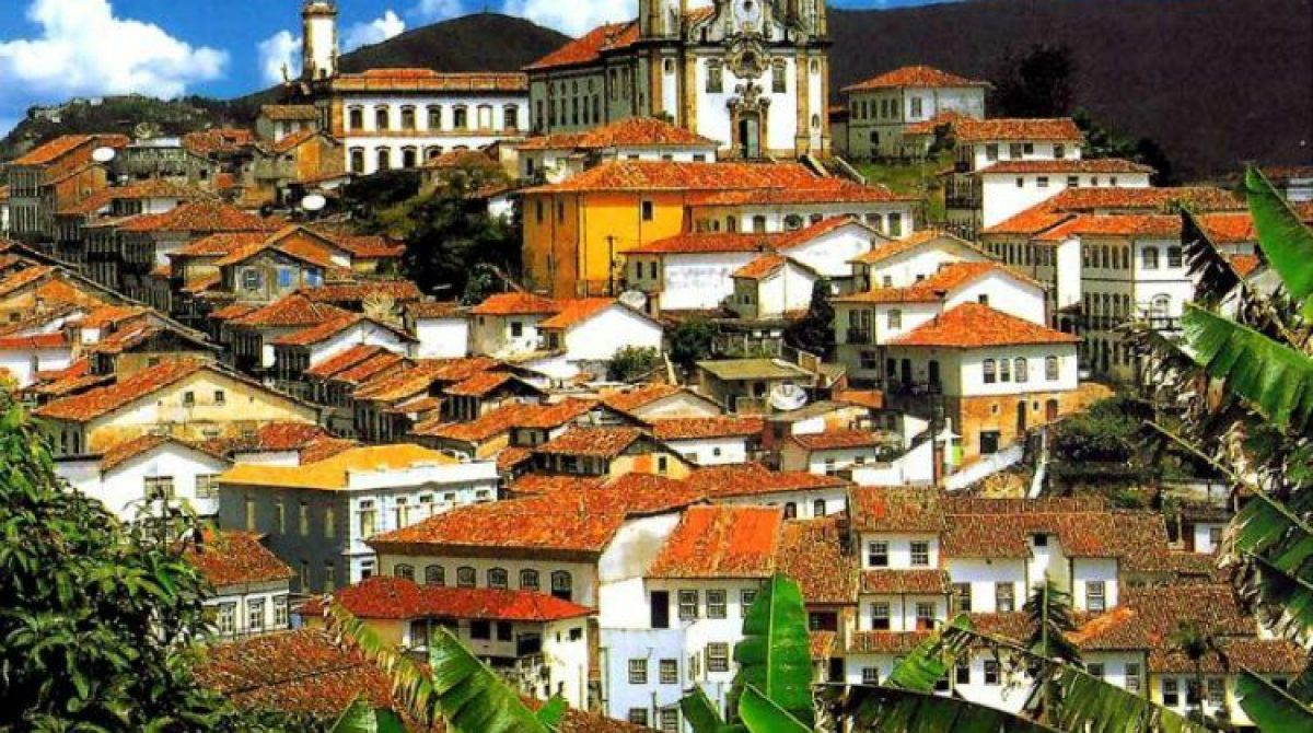 Le città Coloniali del Brasile    Minas Gerais    Cidades da Estrada Real