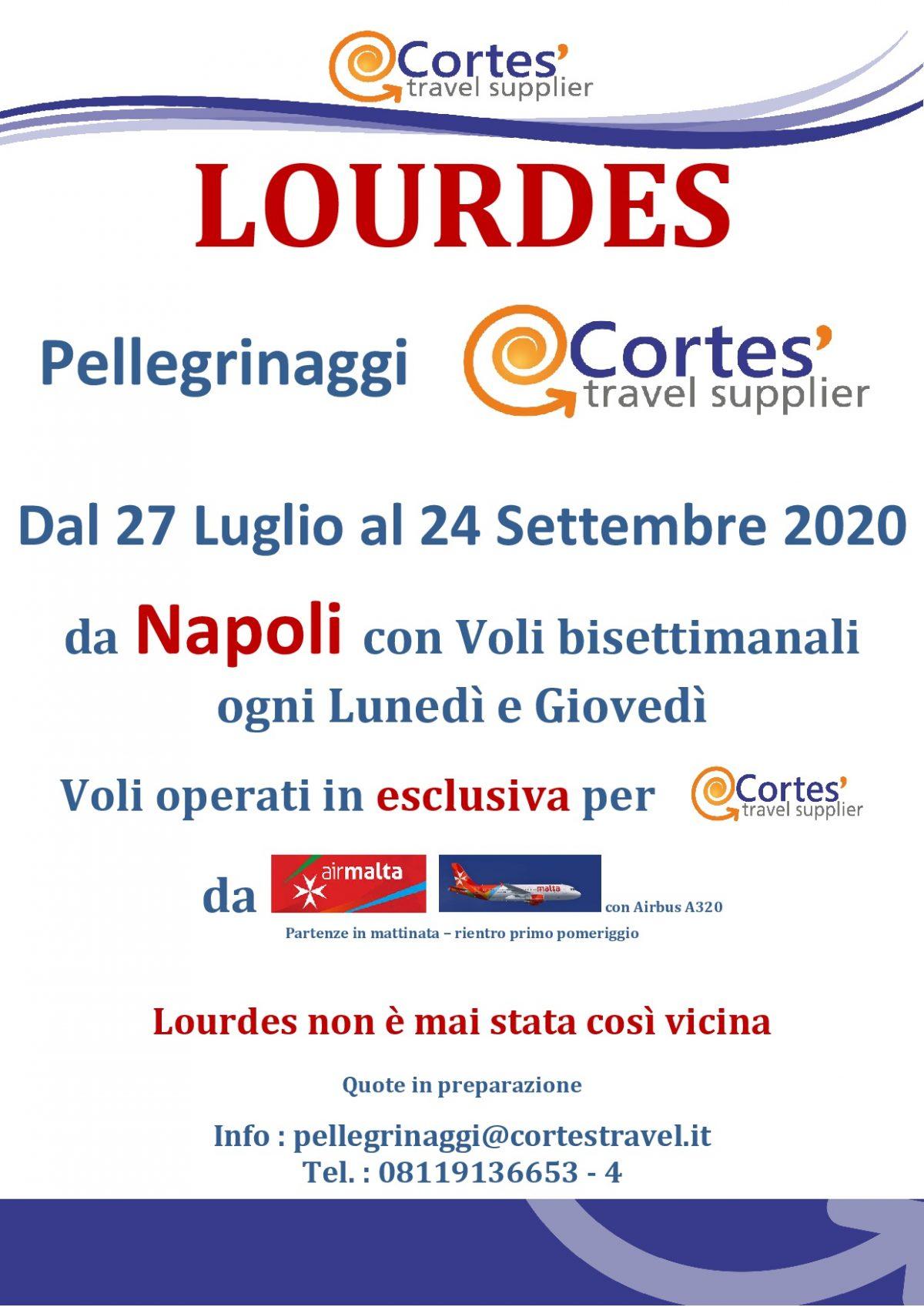Lourdes Anteprima estate 2020