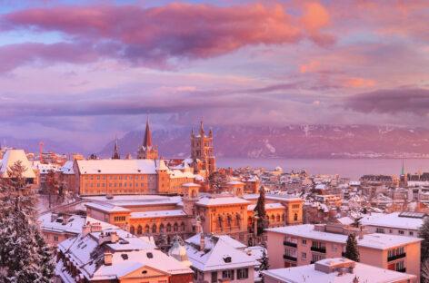 """Webinar Magia del Natale in Svizzera – Losanna, la prima città mai eletta """"Migliore piccola città del mondo"""""""